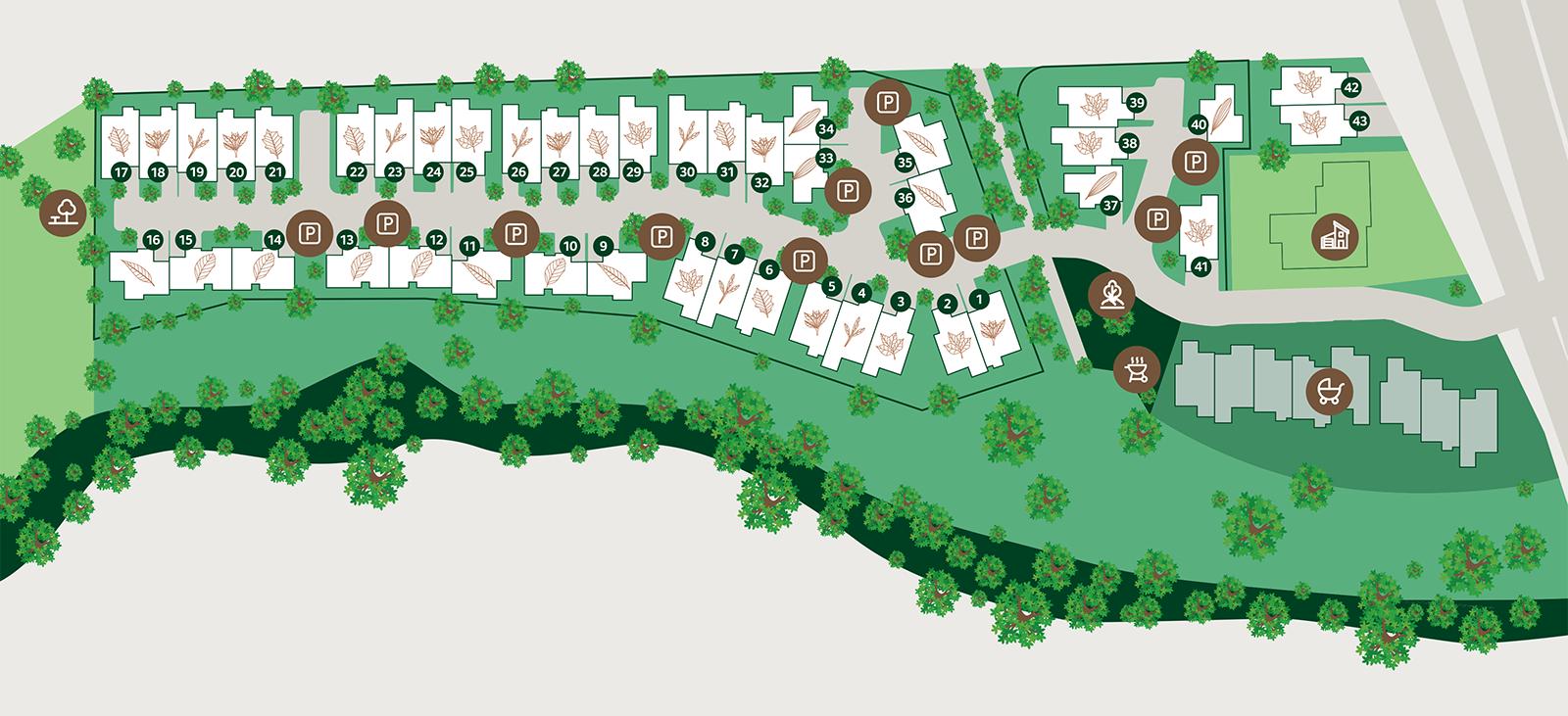 Tallowwood Site Overview Map
